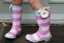 Put your WELLIES on dear!!
