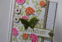 Hand Stamped Style Cards / Get amazing inspiration and simple card ideas from one place, this board is filled with card ideas created by ME- Erin with Hand Stamped Style. Check out my site http://www.handstampedstyle.com