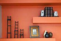 Built-ins / Bookshelves / Bookshelves & other built-in storage. How to style your bookshelves. DIY shelves. Home decor. / by Laurel McCormick Ray