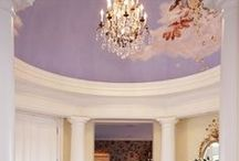 Details {Colored Ceilings} / Adding unexpected color above