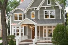 Dream Home: victorian / My modern interpretation of a Victorian home. / by Laurel McCormick Ray