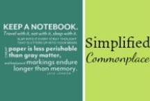 Simplified Commonplace / by Mystie Winckler