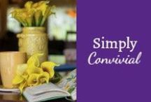 Best of Simply Convivial / classical homeschooling, practical homemaking - homeschooling, homemaking, mothering, list-making, organizing, and trying to be a cheerful, happy mom. A classical homeschool blog. A real life. / by Mystie Winckler