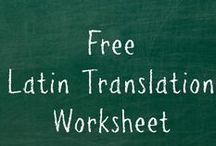 Simplified Latin Learning / You can homeschool Latin - how to teach Latin, learn Latin, and love Latin.  / by Mystie Winckler