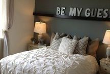 guest bedroom / for our guests to feel at home with us / by Cris M.