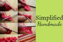 Simplified Handmade / Sewing, crocheting and other DIY projects for home family and more! / by Mystie Winckler