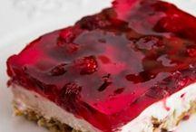 F Desserts / Dessert, yummy, cake, pie, cookies, bars, tarts, cream / by Elizabeth Pickle
