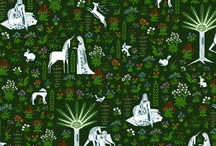 Fabric - designmagi / My surface pattern designs, many sold on Spoonflower. / by Nicole Buxton
