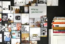 Mood & inspiration boards, cool office spaces