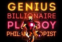 Entertainment - Iron Man / by Vanessa Sherwood