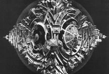Art - M.C. Escher / My favourite works by Maurits Cornelis Escher. / by Vanessa Sherwood
