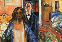 Art - Edvard Munch / My favourite works by Edvard Munch. / by Vanessa Sherwood