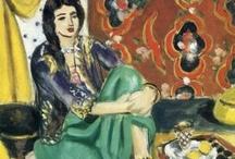 Art - Henri Matisse / My favourite works by Henri-Émile-Benoît Matisse. / by Vanessa Sherwood