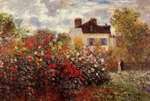 Art - Claude Monet / My favourite works by Claude Monet. / by Vanessa Sherwood