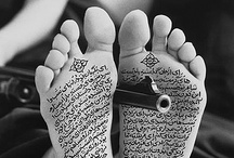 Shirin Neshat / Shirin Neshat شیرین نشاط (born March 26, 1957 in Qazvin, Iran) is an Iranian visual artist who lives in New York City. She is known primarily for her work in film, video and photography.  http://en.wikipedia.org/wiki/Shirin_Neshat