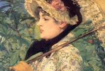 Art - Edouard Manet / My favourite works by Edouard Manet. / by Vanessa Sherwood