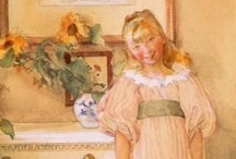 Art - Carl Larsson / My favourite works by Carl Larsson. / by Vanessa Sherwood