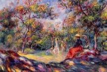 Art - Pierre-Auguste Renoir / My favourite works by Pierre-Auguste Renoir. / by Vanessa Sherwood