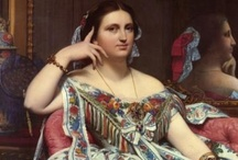 Art - Jean Ingres / My favourite works by Jean Auguste Dominique Ingres. / by Vanessa Sherwood