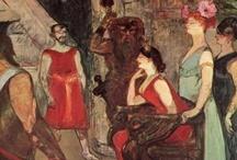 Art - Henri de Toulouse-Lautrec / by Vanessa Sherwood