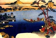 Art - Katsushika Hokusai / by Vanessa Sherwood
