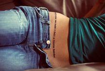 tattoos / by Jenna VanWeelden