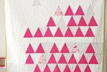Triangle Quilts & geese / by Karen Ganske