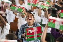 Operation Christmas Child / Operation Christmas Child provides an opportunity for people of all ages to be involved in a simple, hands-on project of Samaritan's Purse that focuses on the true meaning of Christmas - Jesus Christ - God's greatest gift. www.samaritanspurse.ca/occ