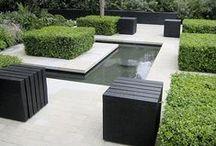 Vesi puutarhassa - water in garden
