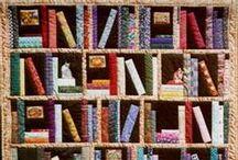 Bookshelf Quilt Inspiration / by Karen Ganske
