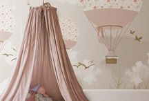 Pretty Rooms for Girls / Pretty decorating ideas for my little girl.  Beautiful without being over-the-top frou-frou. #GirlsRooms #Pretty