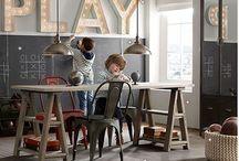 Playroom Ideas / Ideas for Playroom Decor and Organization.