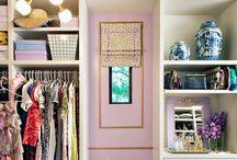 Closet Organization and Decor. / Closet organization ideas.