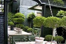 Peilit puutarhassa - Mirrors in garden