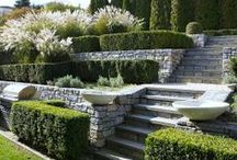 Portaat - steps and stairs in garden