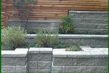Muurit - walls in garden