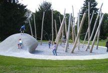 Leikkialue / moderni - urban playgrounds