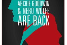 M Nero and Archie / Rex Stout, Nero Wolfe, Archie Goodwin book / by Elizabeth Pickle