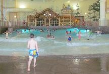 Great Wolf Lodge / Kid-friendly getaways at Great Wolf Lodge indoor waterpark resorts. Curated by the family vacations expert at About.com and top family bloggers. #greatwolflodge #familytravel #familyvacation #waterpark