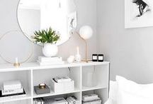 clean whites / simplistic, pure serenity: an effortless design choice.
