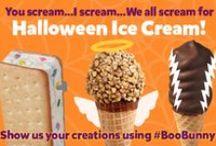 Halloween with Boo Bunny / Have a ghoulishly grand Halloween with these terrifyingly tasty Halloween ice cream ideas & treats! #BooBunny