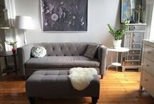 Apartment Therapy / Give your apartment home some TLC with these home decor and updating ideas!