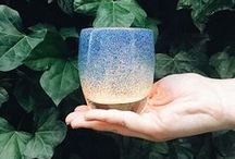 glassybaby love / local and low-water, our artisan glassblowing creates sustainable colorful beauty each day