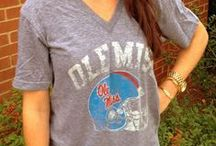 Wear Red & Blue - for the girls / Red and blue fashion for Ole Miss Rebels. Hotty toddy! / by Ole Miss