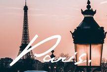 Paris, je t'aime!! / The beautiful city where I was born / by Luz Lafitte