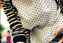 Polka Dots and Stripes! / by C'est Moi