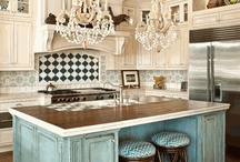 kitchens I love!!! / by Theresa Fulgoni-Chittock