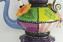 ~tea cups~teapots~ / by Theresa Fulgoni-Chittock