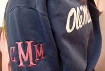 Monogrammed / by Ole Miss