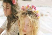 Moodboard - Floral Grunge